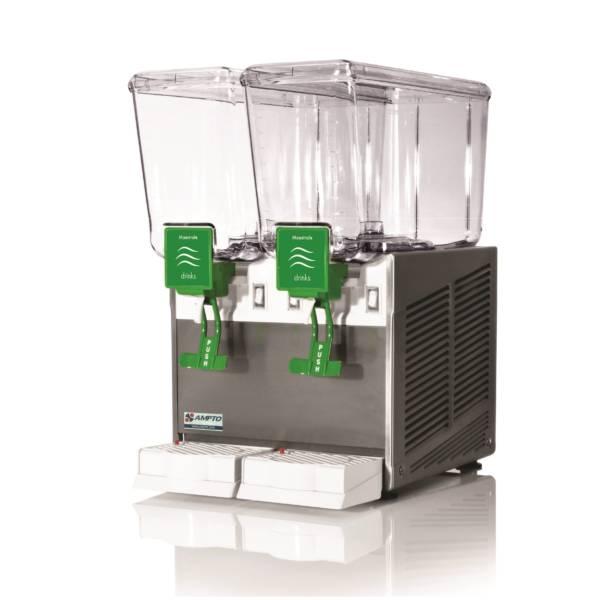 Dispensador de bebidas frías  2 tanques