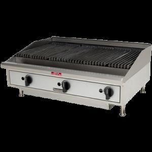 Parrilla de sobreponer toastmaster gas for Parrilla cocina industrial